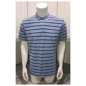 Ralph Lauren Mens polo shirt medium m blue EUC